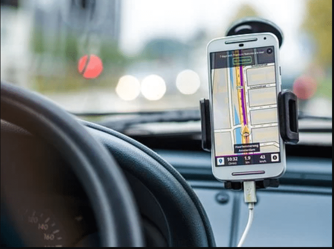 You can use your Mobile Phones while driving for navigation