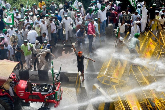 Government against Farmers