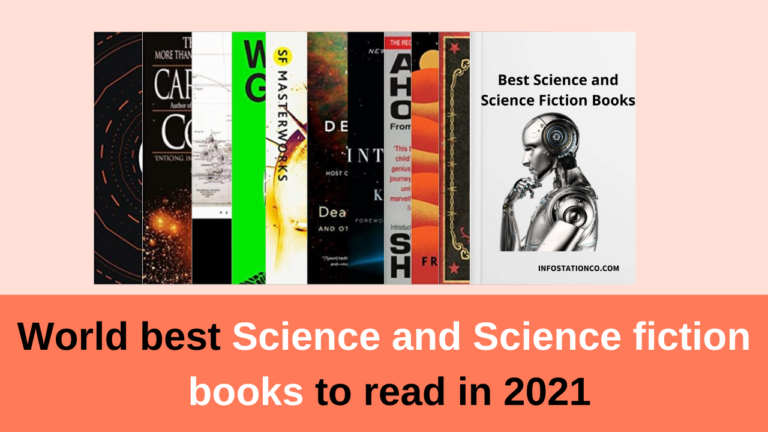 World best Science and Science fiction books to read in 2021