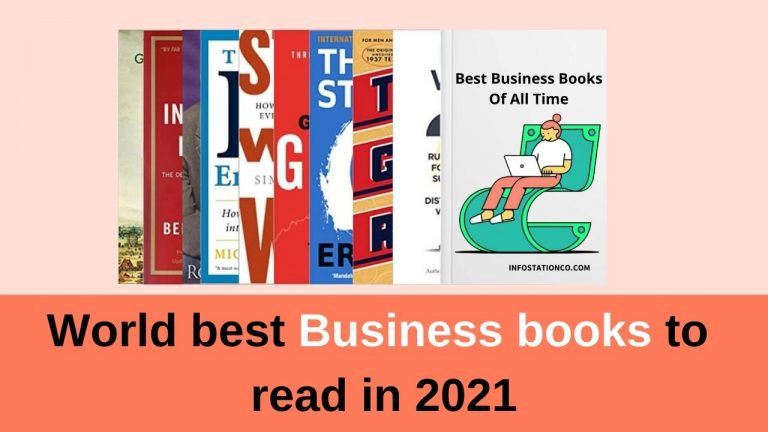 World Best Business Books to read in 2021